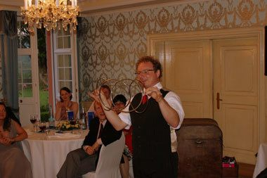 Zauberer-Hochzeit