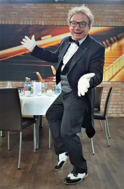 Comedykellner für Geburtstag, Hochzeit und Firmenfeier